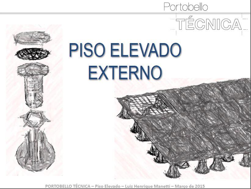 Apresentação Portobello - Piso Elevado Portobello & Astra