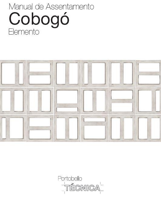 Manual de Assentamento Cobogó - Linha Elemento