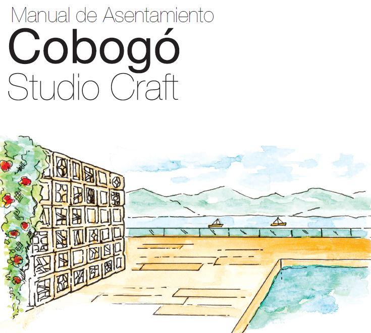 Manual de Asentamiento Cobogó Studio Craft (ES)